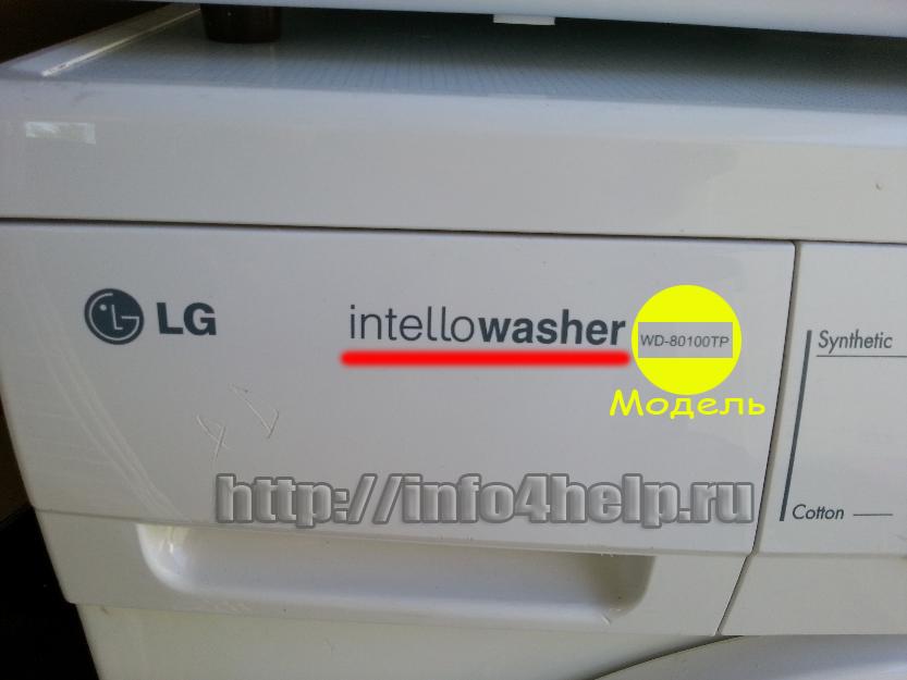 Инструкция стиральная машина lg intellowasher