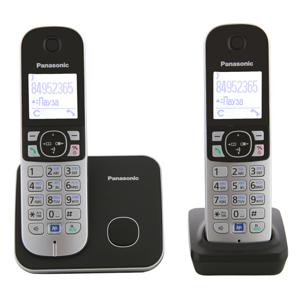 Panasonic kx-tg6812rub инструкция