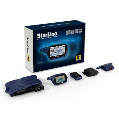 Внешний обличие автосигнализации StarLine A91 Dialog